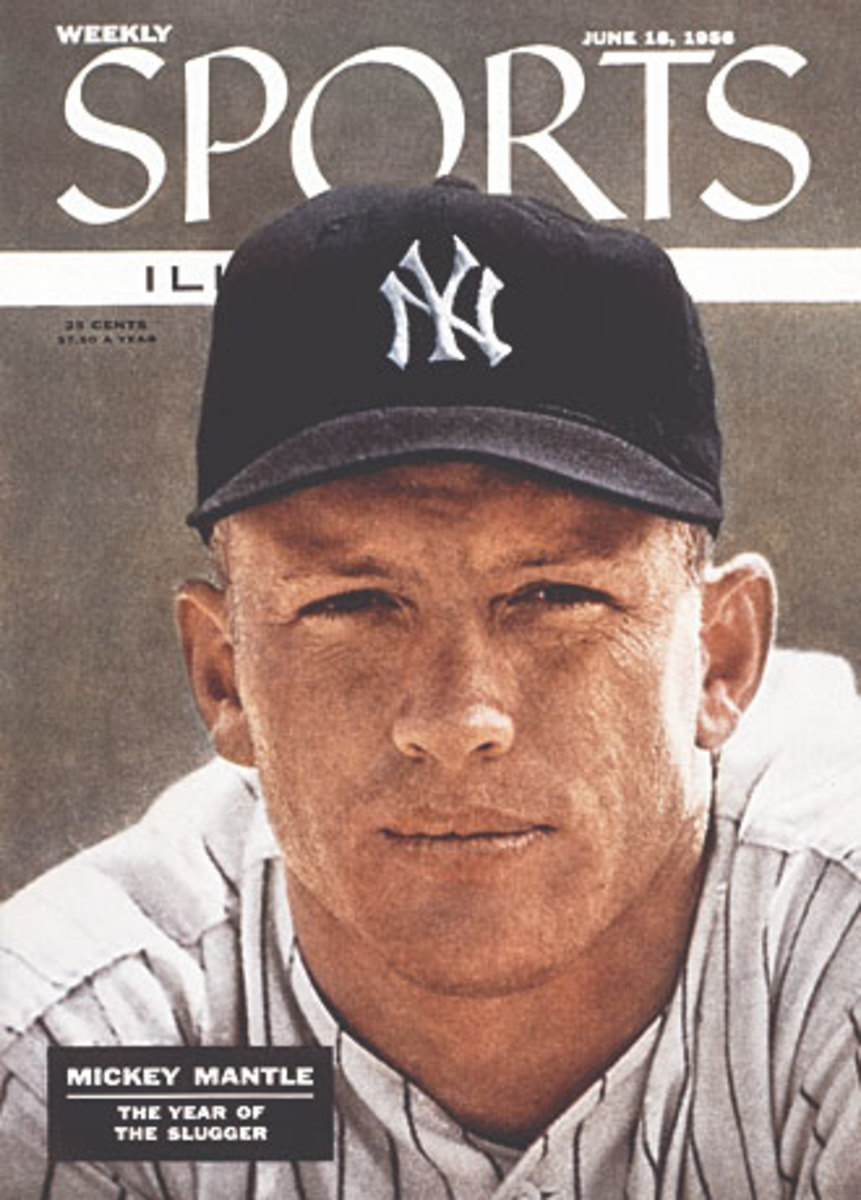 Mickey Mantle cover
