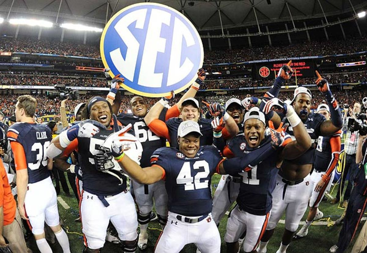 The Southeastern Conference announced a record payout of $309.6 million to member schools.