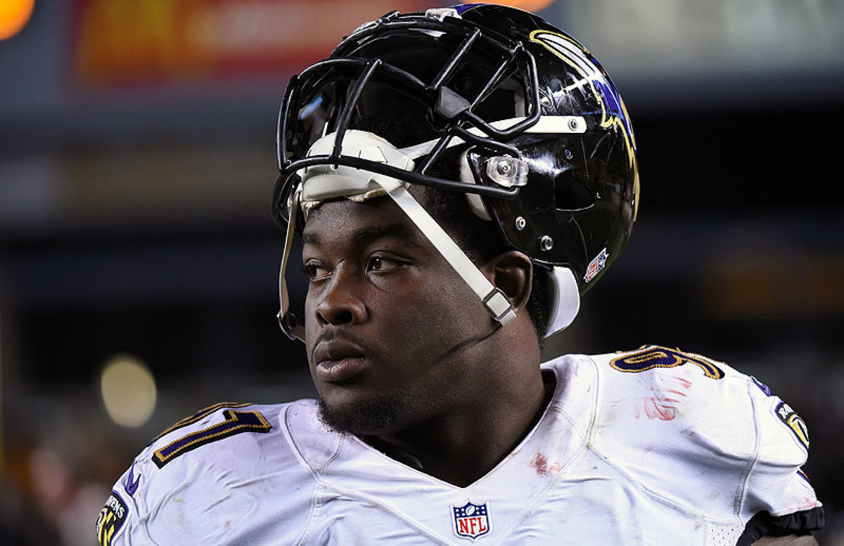 Timmy Jernigan, a second-round pick out of Florida State, has played in eight games for the Ravens and has two sacks. (George Gojkovich/Getty Images)