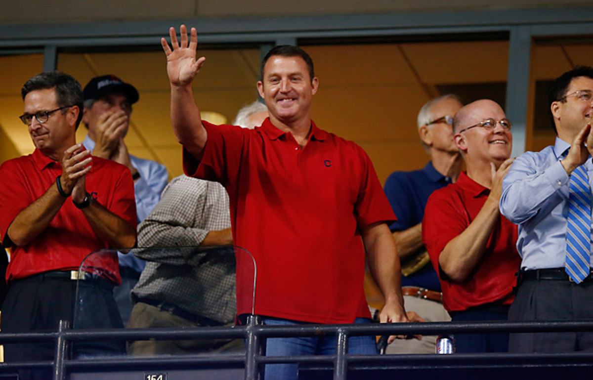 Jim Thome is the Indians' all-time home run leader and will have a statue erected in his honor.