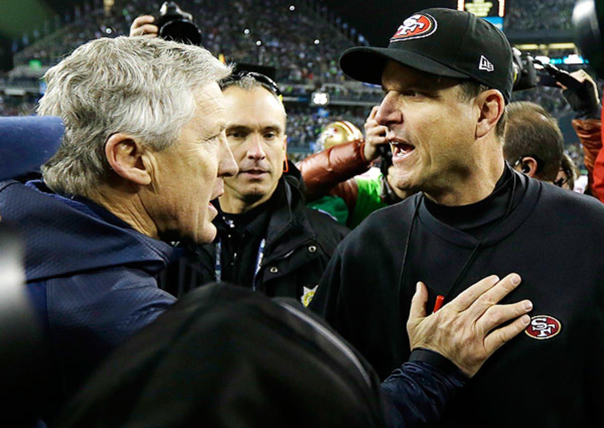 Pete Carroll on Jim Harbaugh: Seattle Seahawks love beating San Francisco 49ers