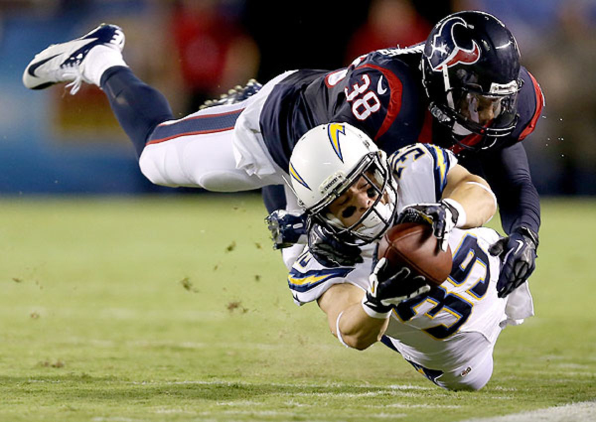 Safety Danieal Manning was cut by the Houston Texans on Monday
