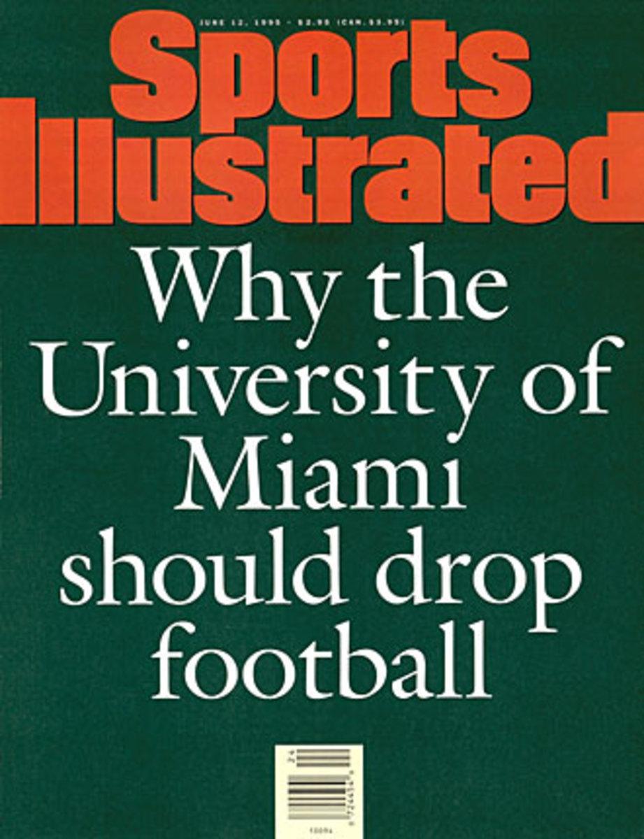Miami football cover 1995