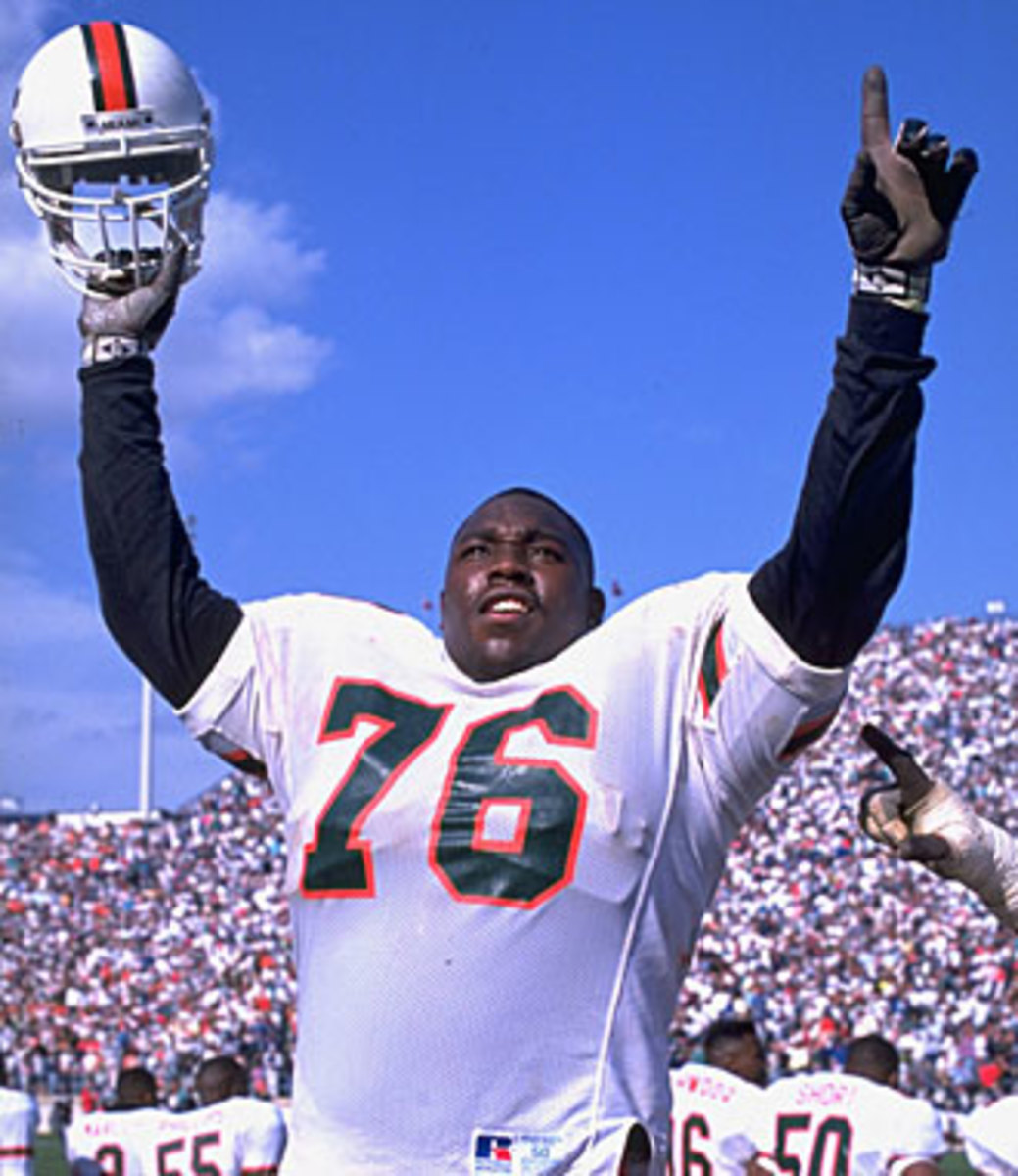 Warren Sapp was one of many Hurricanes whose off-field troubles tarnished the program's image.