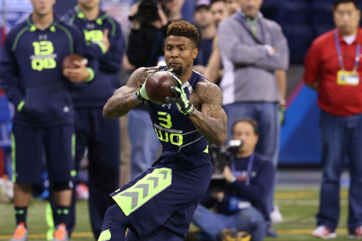 Odell Beckham continues to impress throughout the pre-draft process. (Johnny Vy/AP)