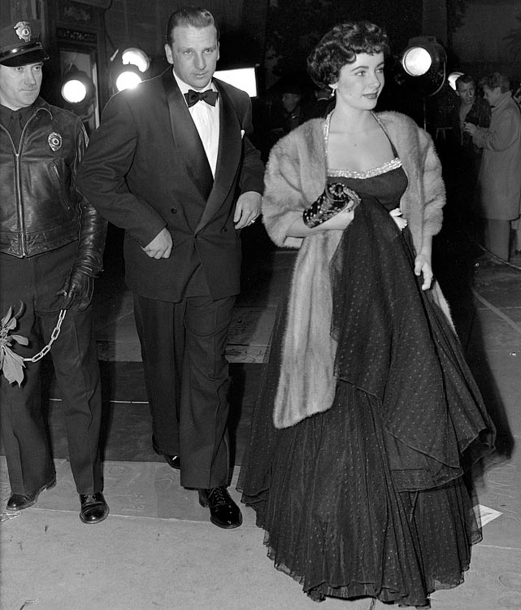 Ralph Kiner and<br> Elizabeth Taylor