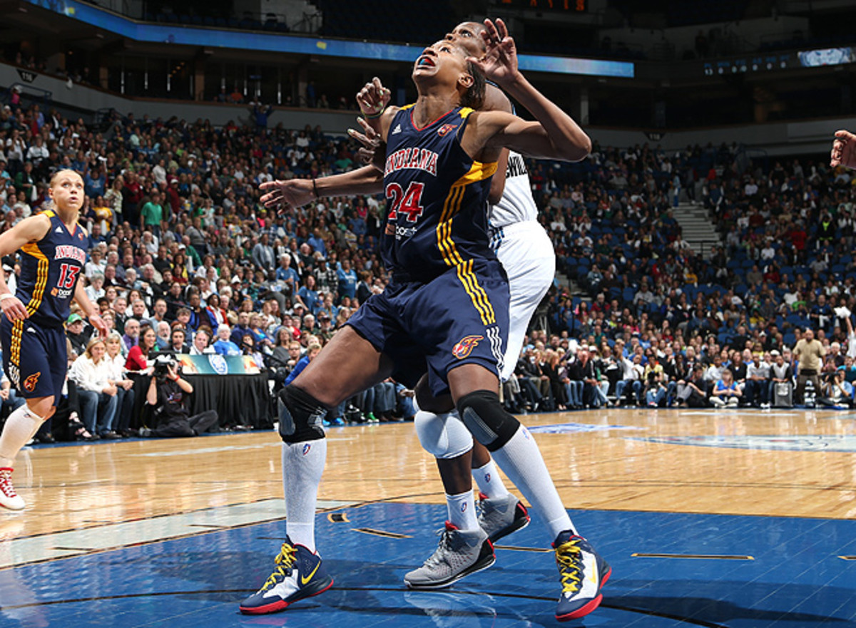 Entering her 12th season in the WNBA, Tamika Catchings is looking to defend the league title.