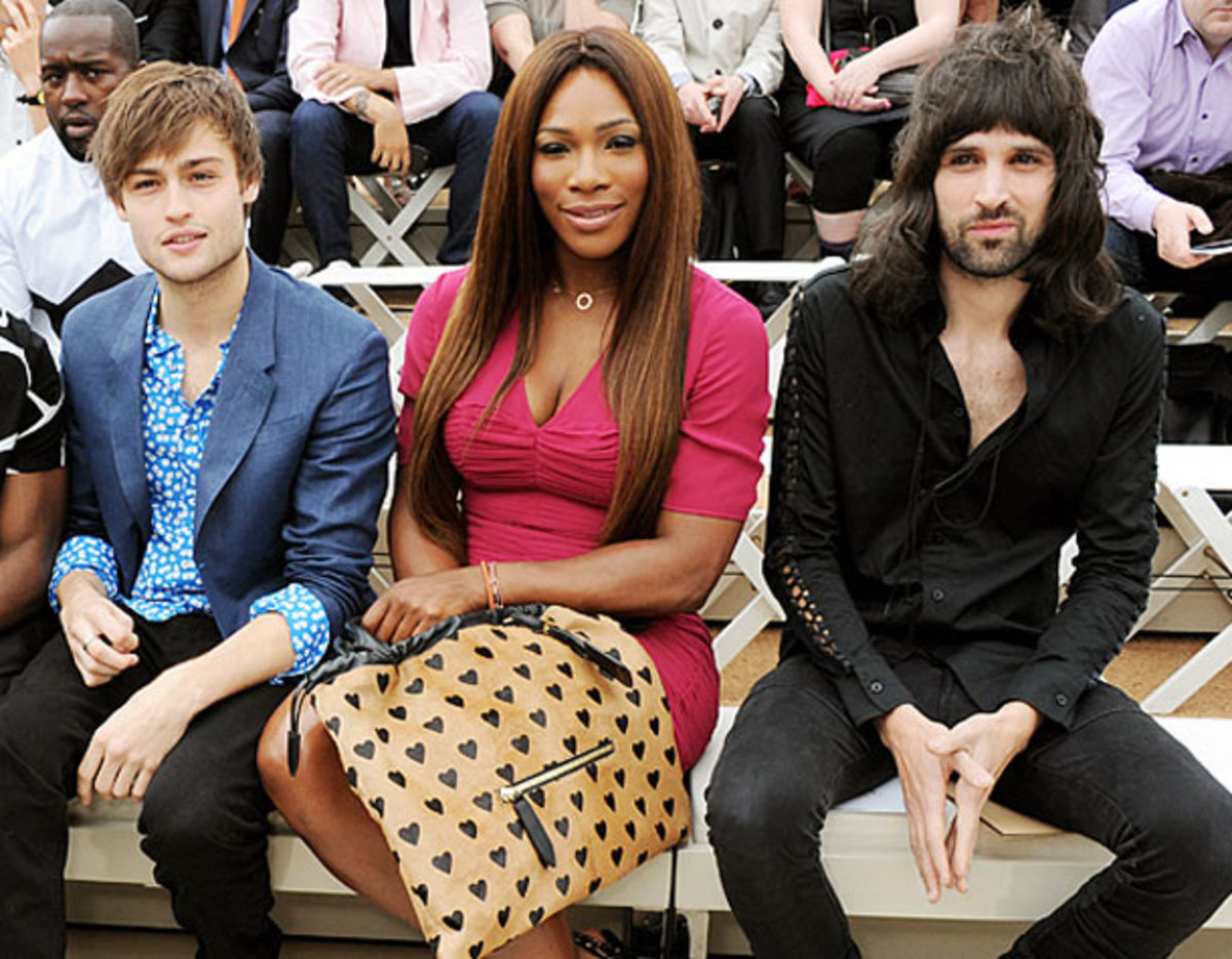 Serena Williams with (Dave M. Benett/Getty Images for Burberry)