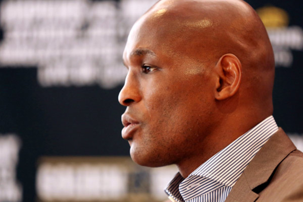Bernard Hopkins was in New York on June 5, promoting his since-canceled fight. (AP)