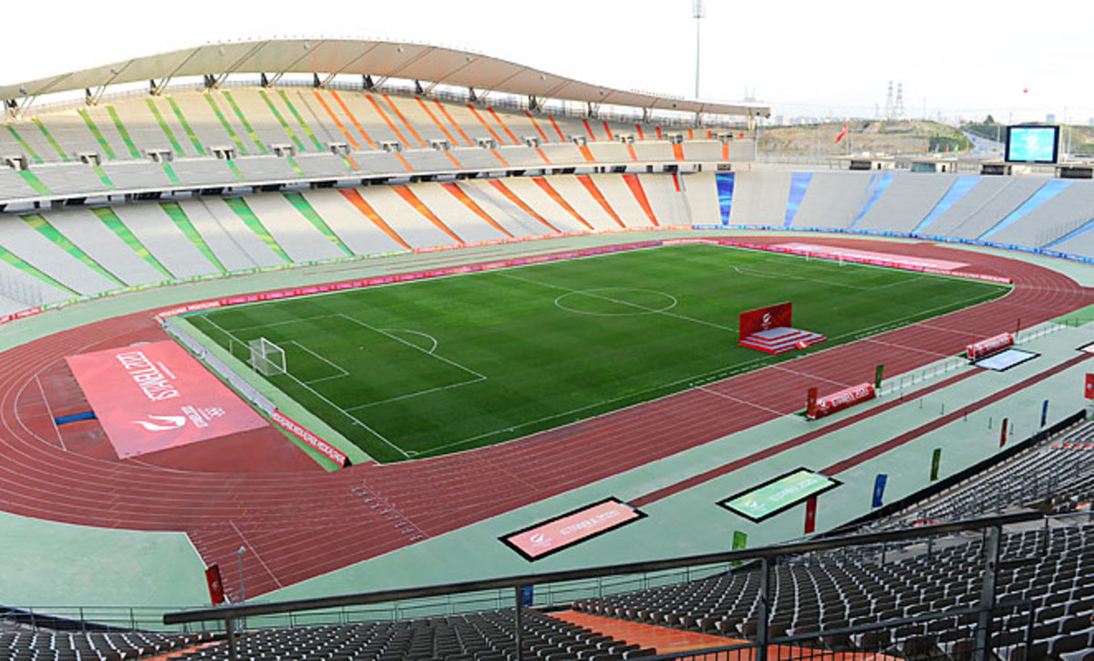 Istanbul's Ataturk Stadium was part of the city's bid to host the 2020 Olympic games.