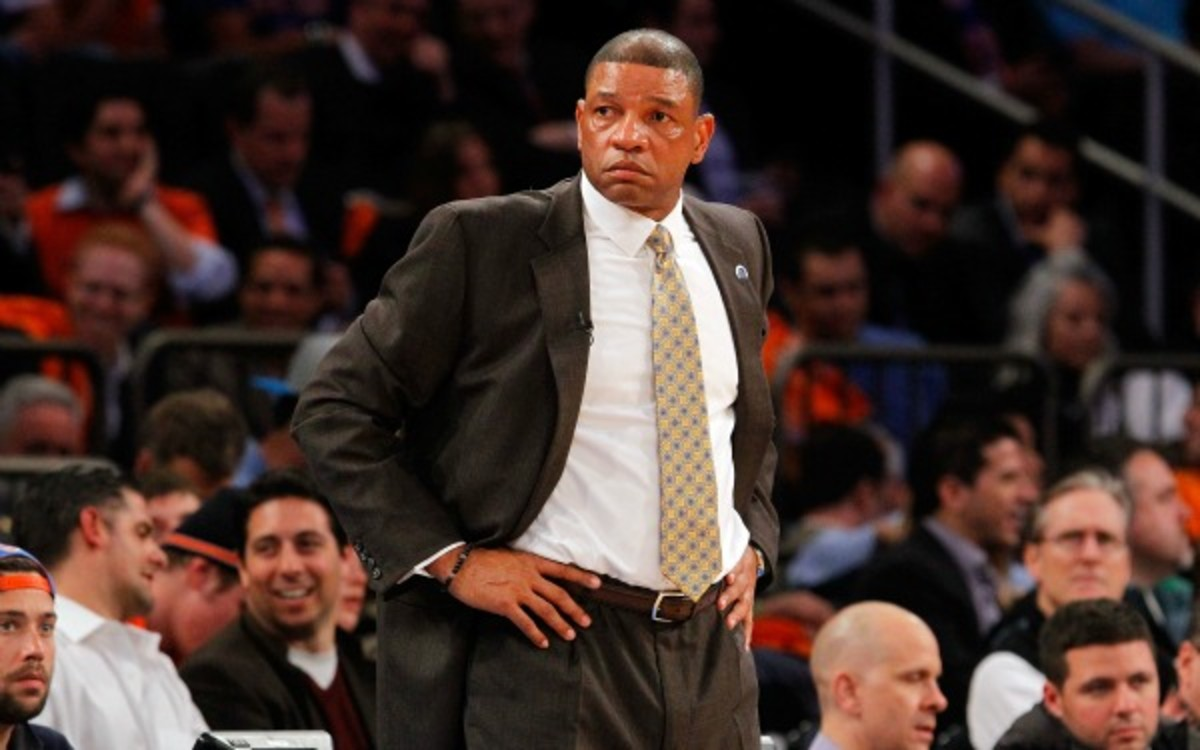After one day of swirling rumors, the Clippers are reportedly moving on from Doc Rivers. (Jim McIsaac/Getty Images)
