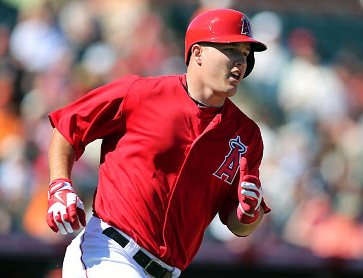Angels' OF Mike Trout