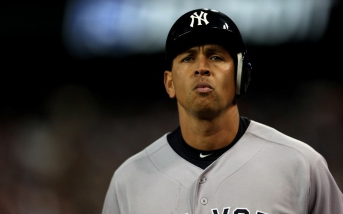 Alex Rodriguez reportedly has sued Major League Baseball. (Jonathan Daniel/Getty Images)