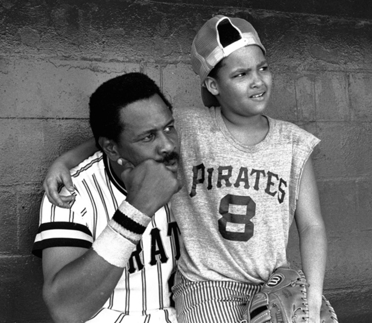 Willie Stargell and Willie Stargell Jr.