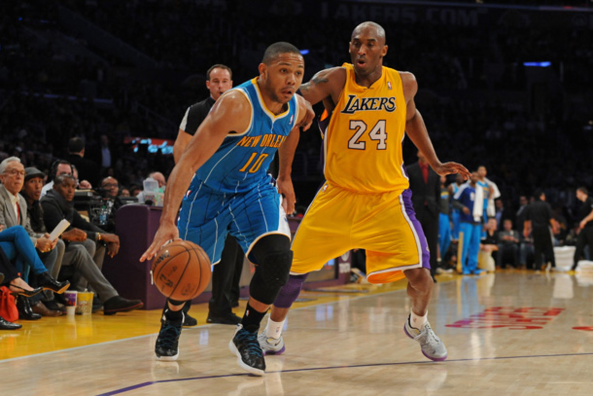 Eric Gordon is likely to remain with the Hornets. (Evan Gole/Getty Images)