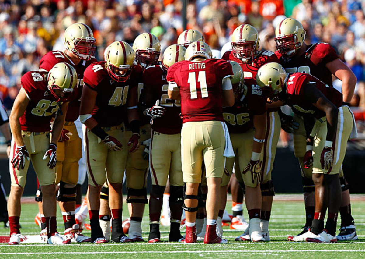 Boston College has gone a combined 6-18 over the past two years, including a 4-12 mark in ACC play.