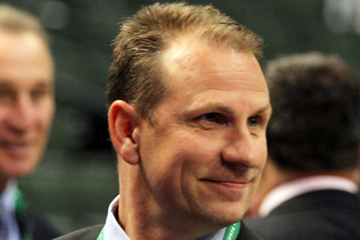 Keith Gretzky is the new chief amateur scout for the Bruins. (Bruce Bennett/Getty Images)