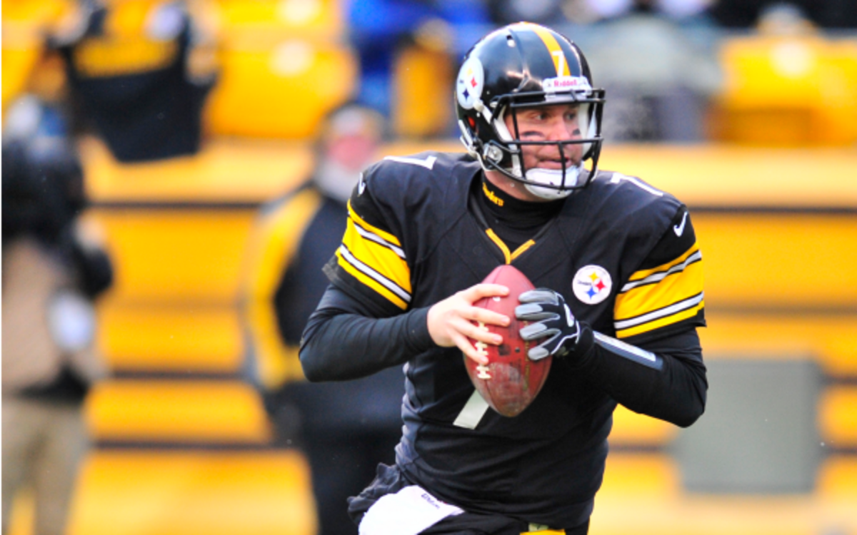 Steelers quarterback Ben Roethlisberger says young QB's have a lot to prove. (Photo by Diamond Images/Getty Images)