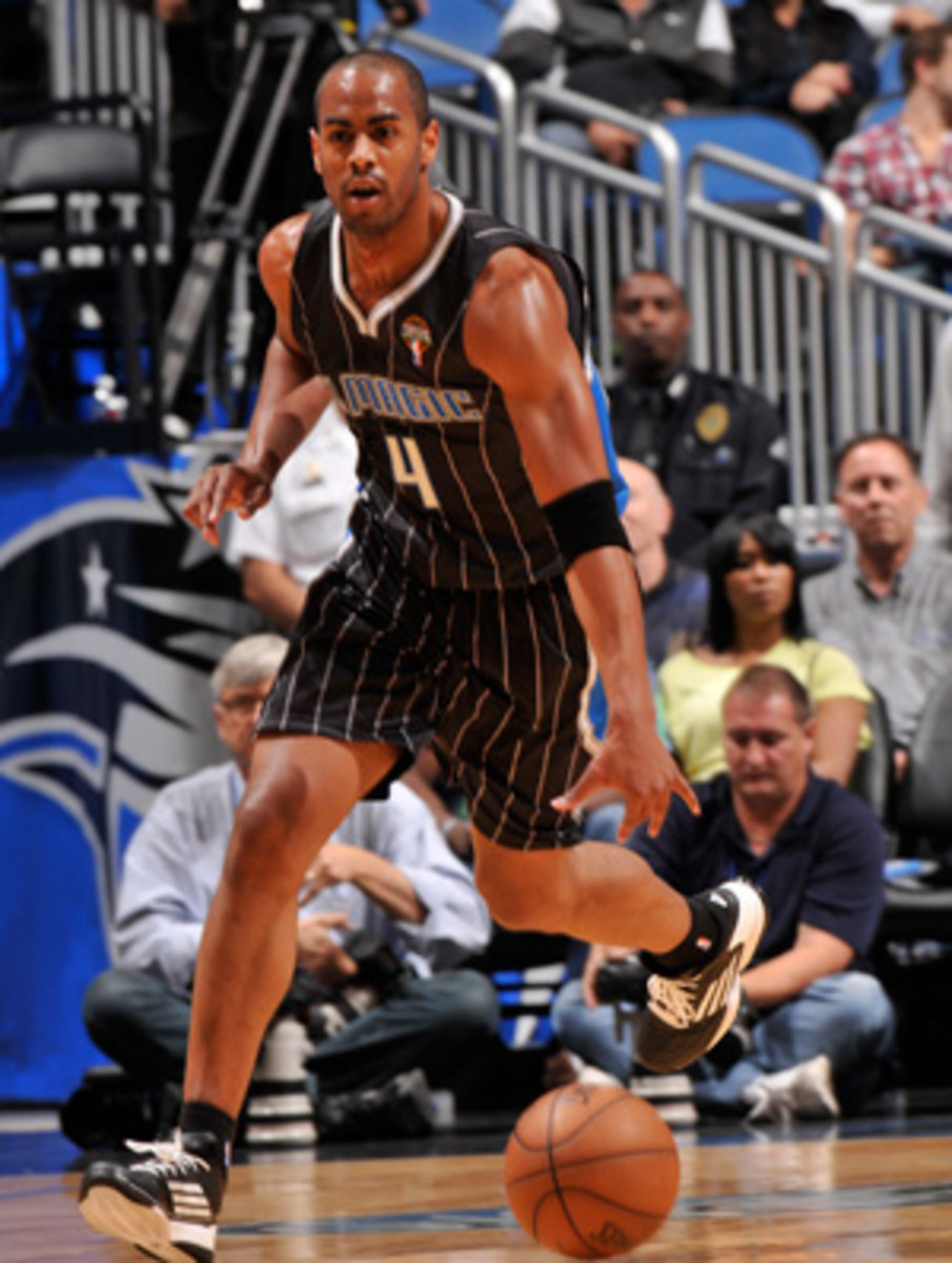 Arron Afflalo is done for the season with a hamstring injury. (Fernando Medina/Getty Images)