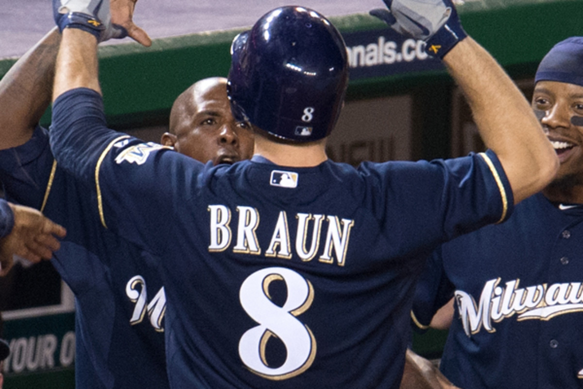 Ryan Braun is being sued by a longtime friend. (Hannah Foslien/Getty Images)