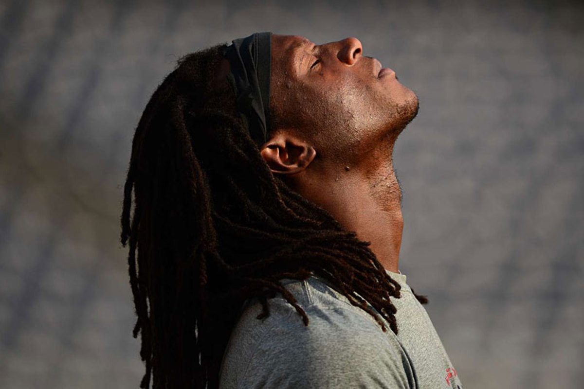 Texans rookie D.J. Swearinger prepares for his first NFL game. (John W. McDonough)