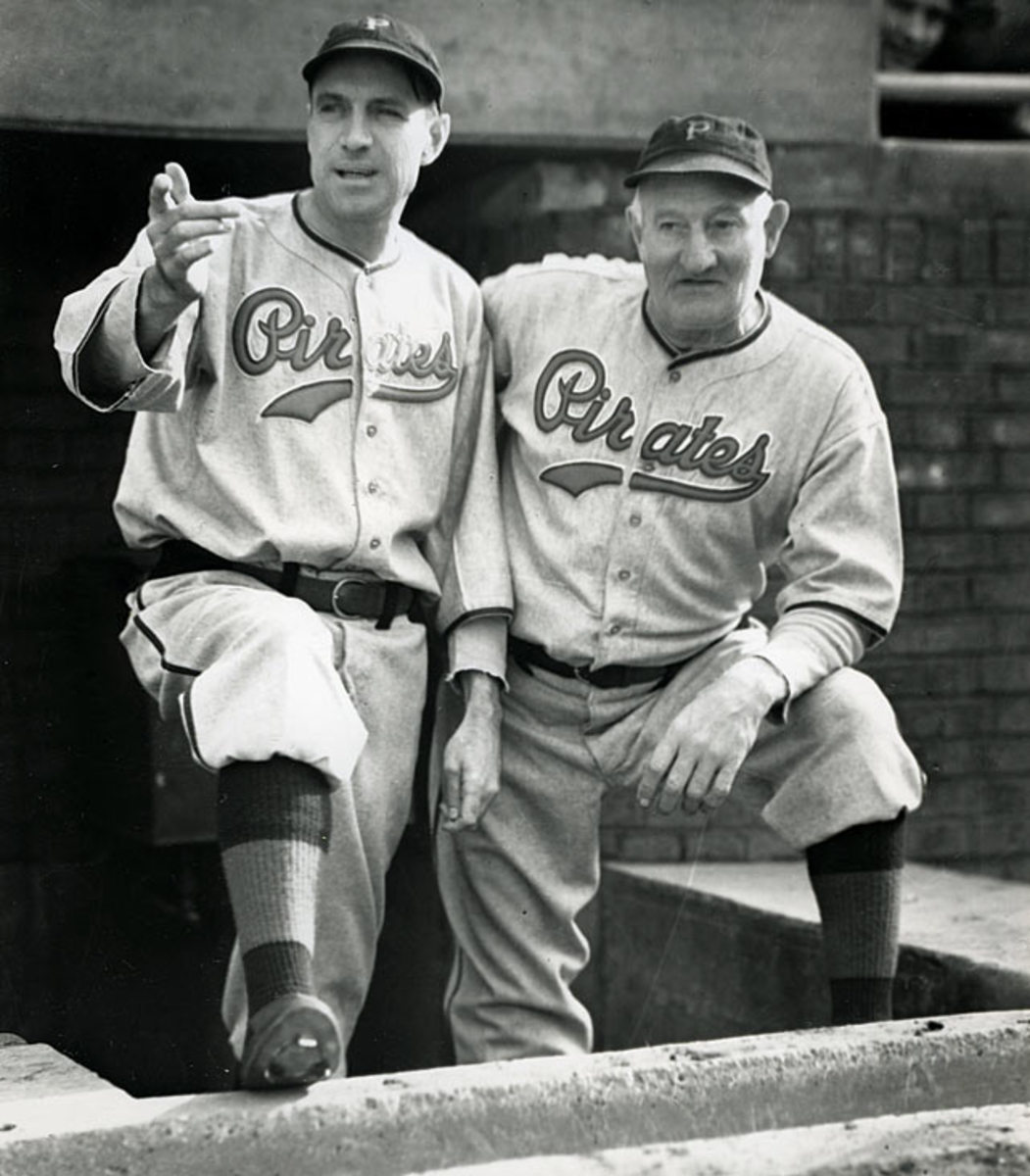 Pie Traynor and Honus Wagner