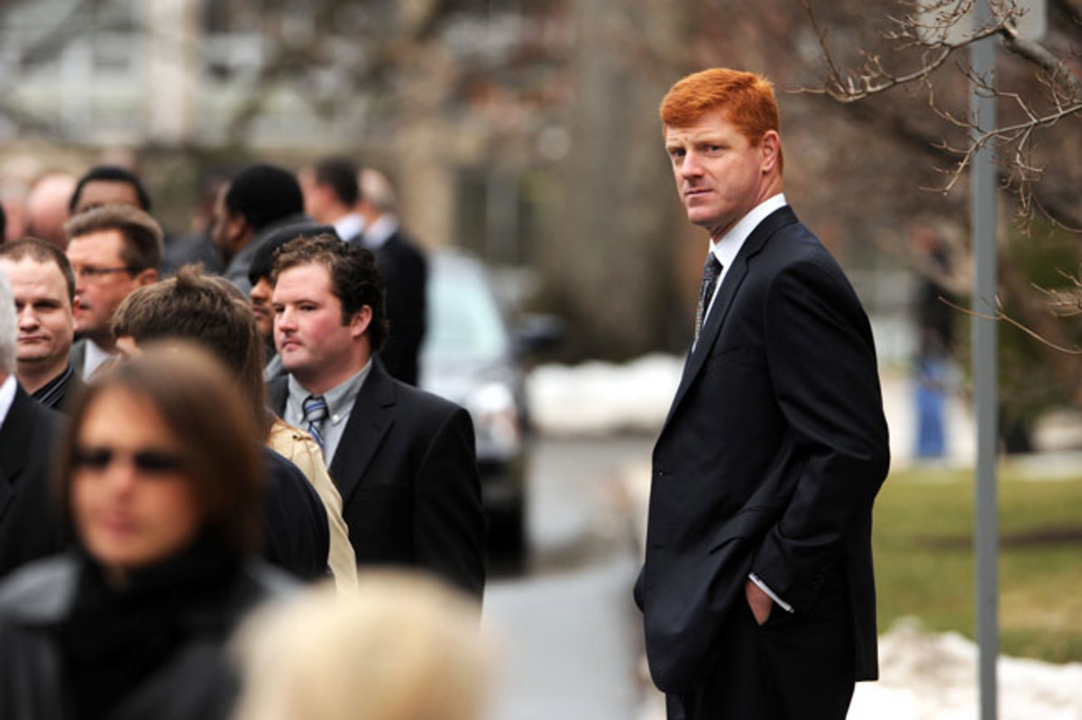 Mike McQueary was called as a witness in the hearing for three former Penn State officials.