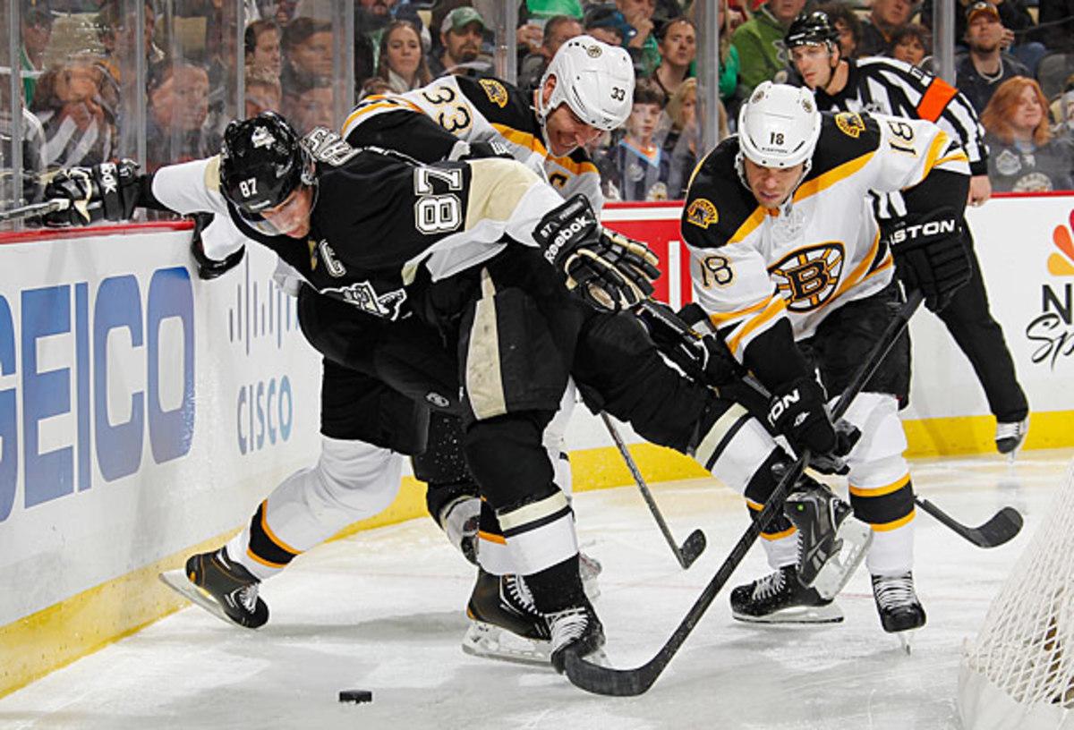 Sidney Crosby vs. Boston Bruins in Eastern Conference Final.
