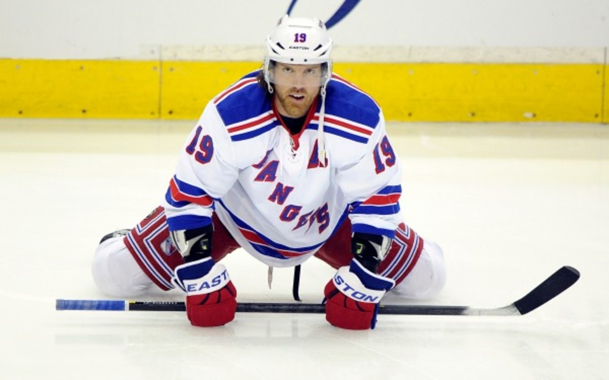 Brad Richards will be benched in Game 4 against the Bruins. (Photo by G Fiume/Getty Images)