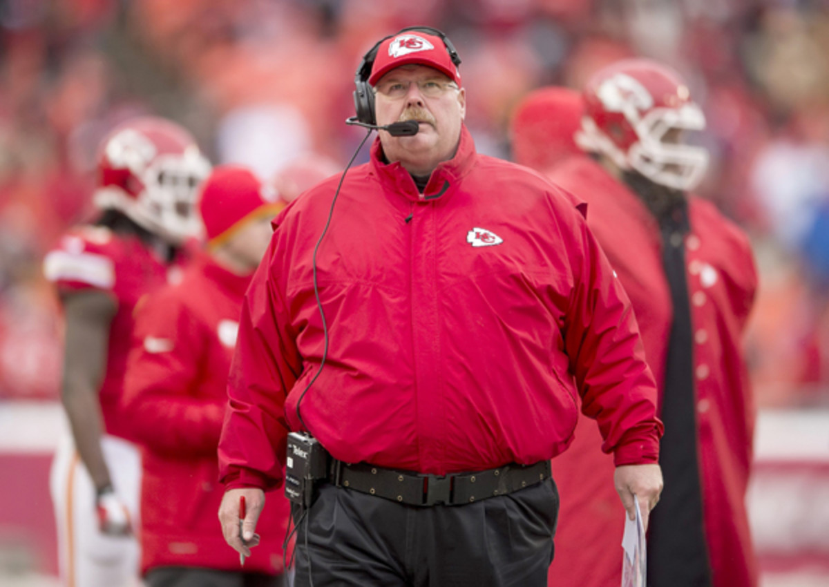 Andy Reid is taking no chances coming into the postseason.