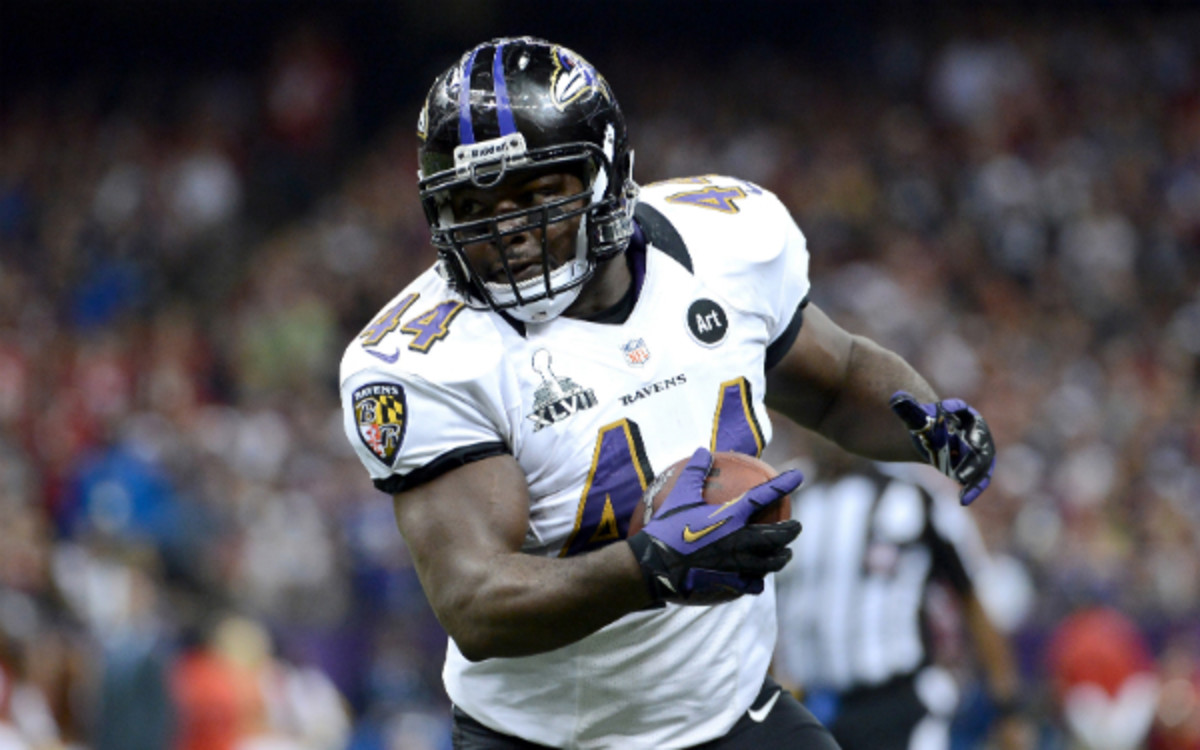 Fullback Vonta Leach agreed to a two-year deal with the Baltimore Ravens (Harry How/Getty Images)