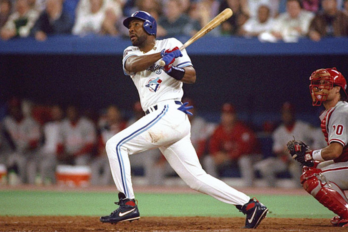 Joe Carter is the only man to win the World Series with a come-from-behind, walk-off home run.