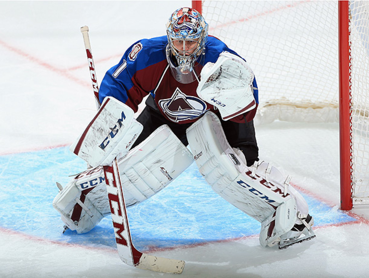 Semyon Varlamov will be held in jail pending an appearance before a judge on Thursday. (Doug Pensinger/Getty Images)