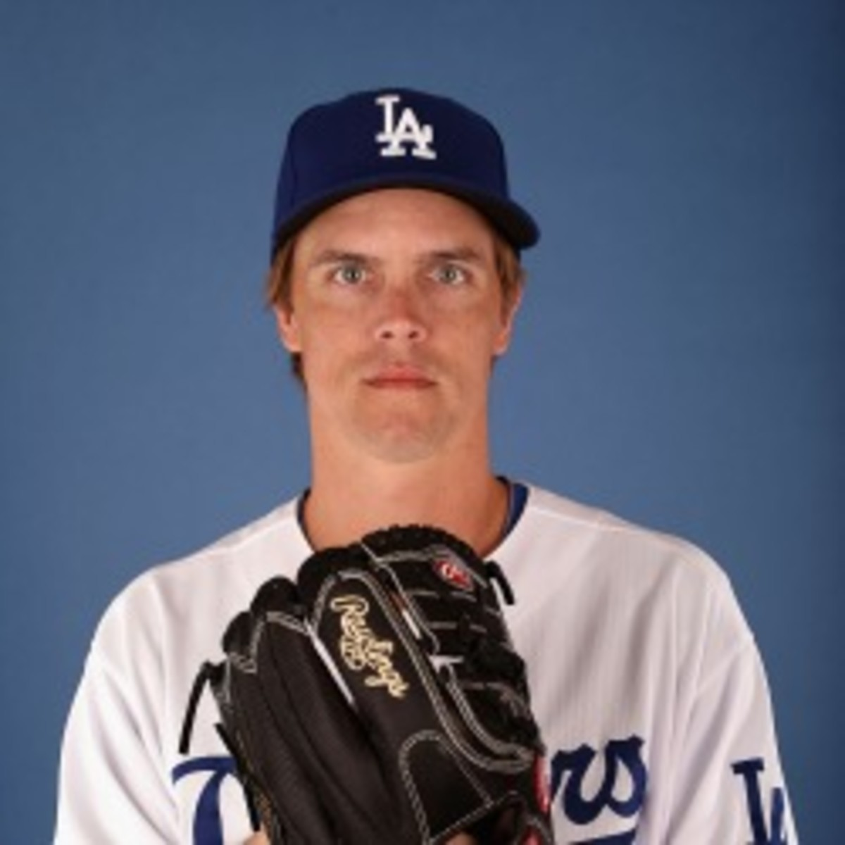 Dodgers pitcher Zack Greinke said he signed with the team because of money. (Christian Petersen/Getty Images)
