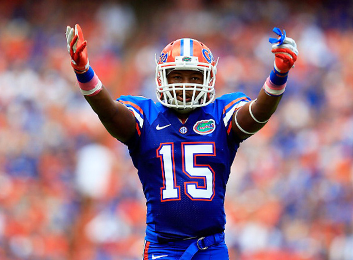 Star DB Louchiez Purifoy is one of six Gators suspended for Saturday's opener. (Sam Greenwood/Getty Images])
