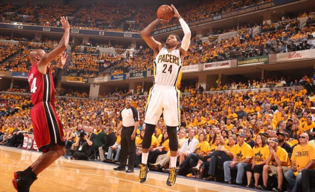 Third team All-NBA selection Paul George will remain a Pacer for the next six years.