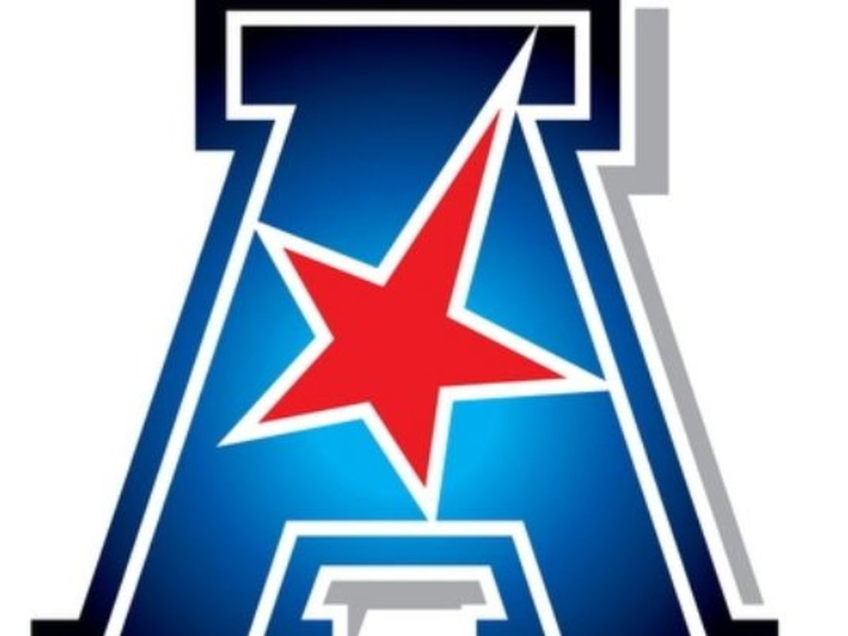 American Athletic Conference unveiled its primary logo.  (Courtesy of AAC/USA Today)
