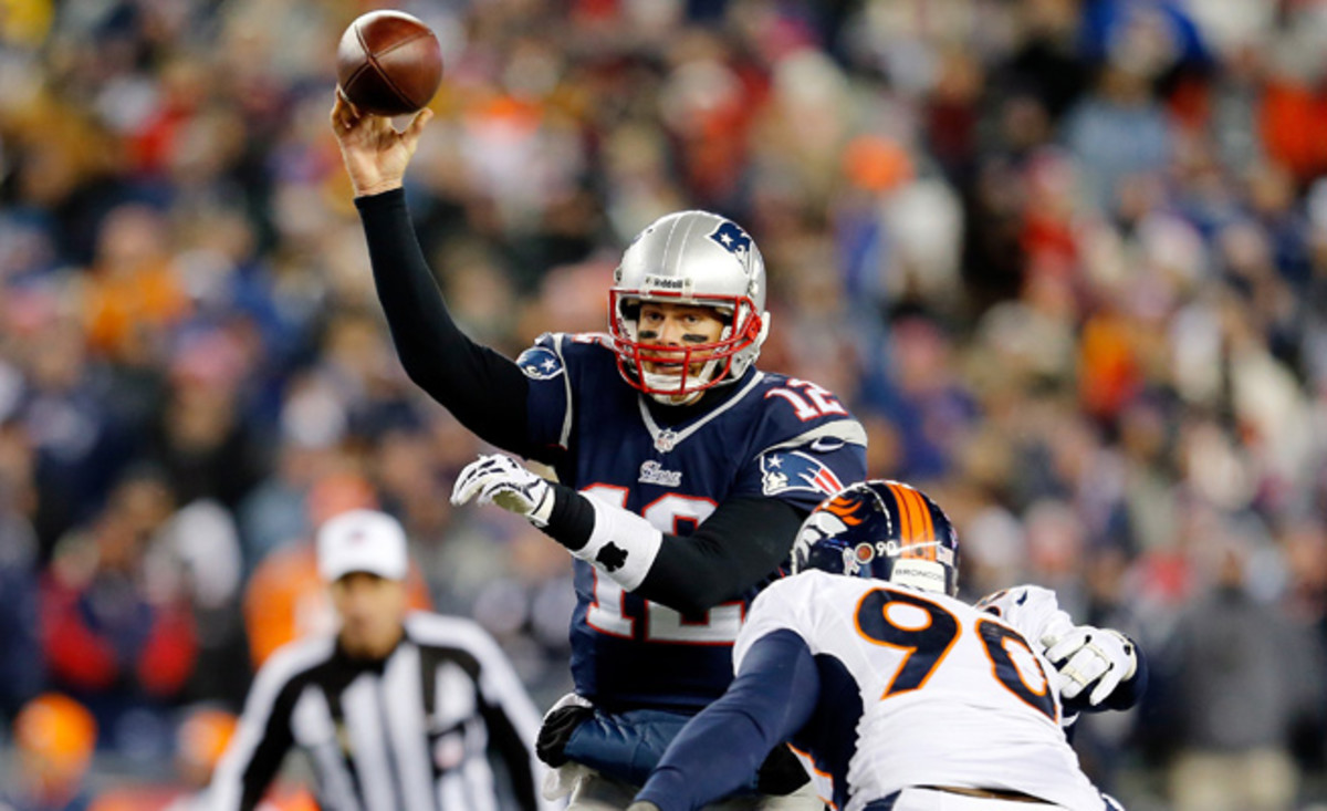 Tom Brady made sure that his most recent matchup with Peyton Manning was the most exciting yet.