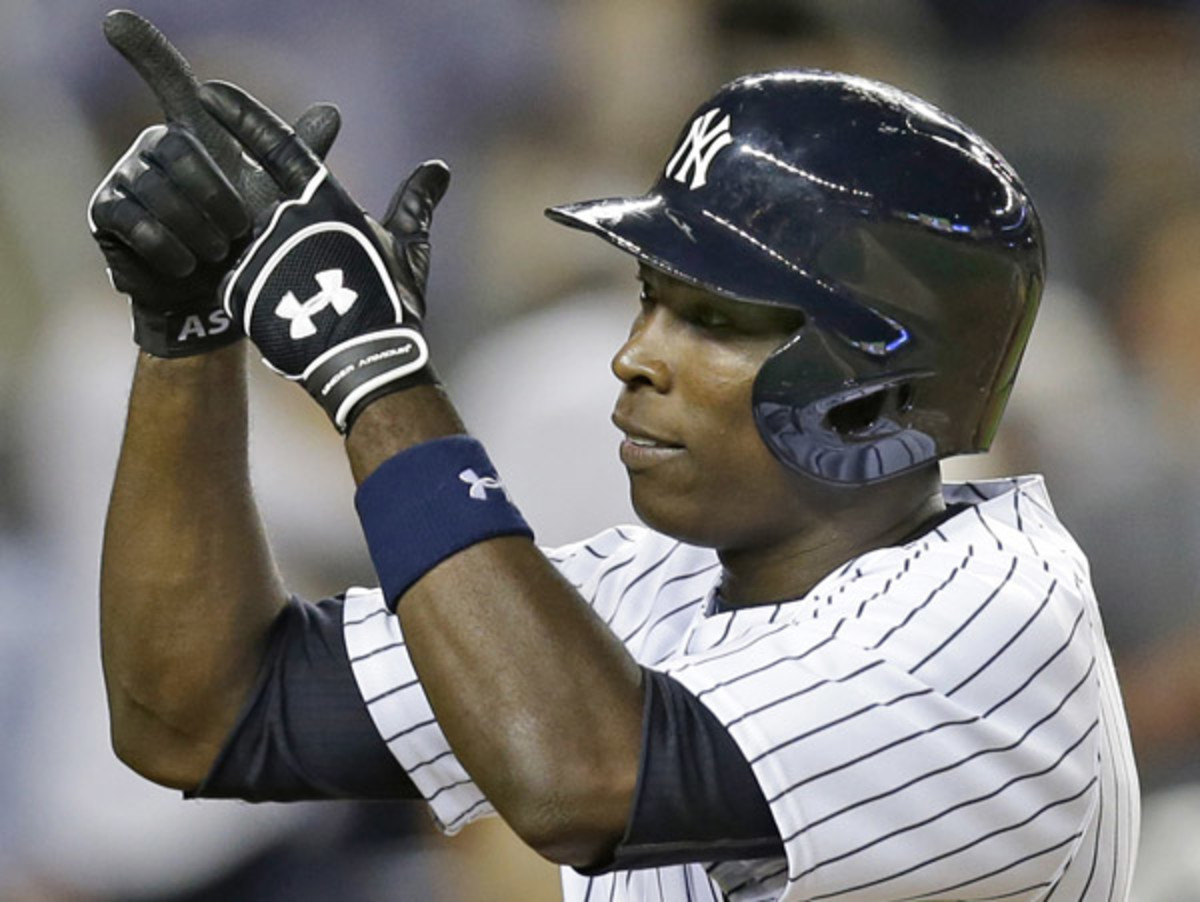 Alfonso Soriano drove in seven runs over two games against the Angels. (Kathy Willens/AP)
