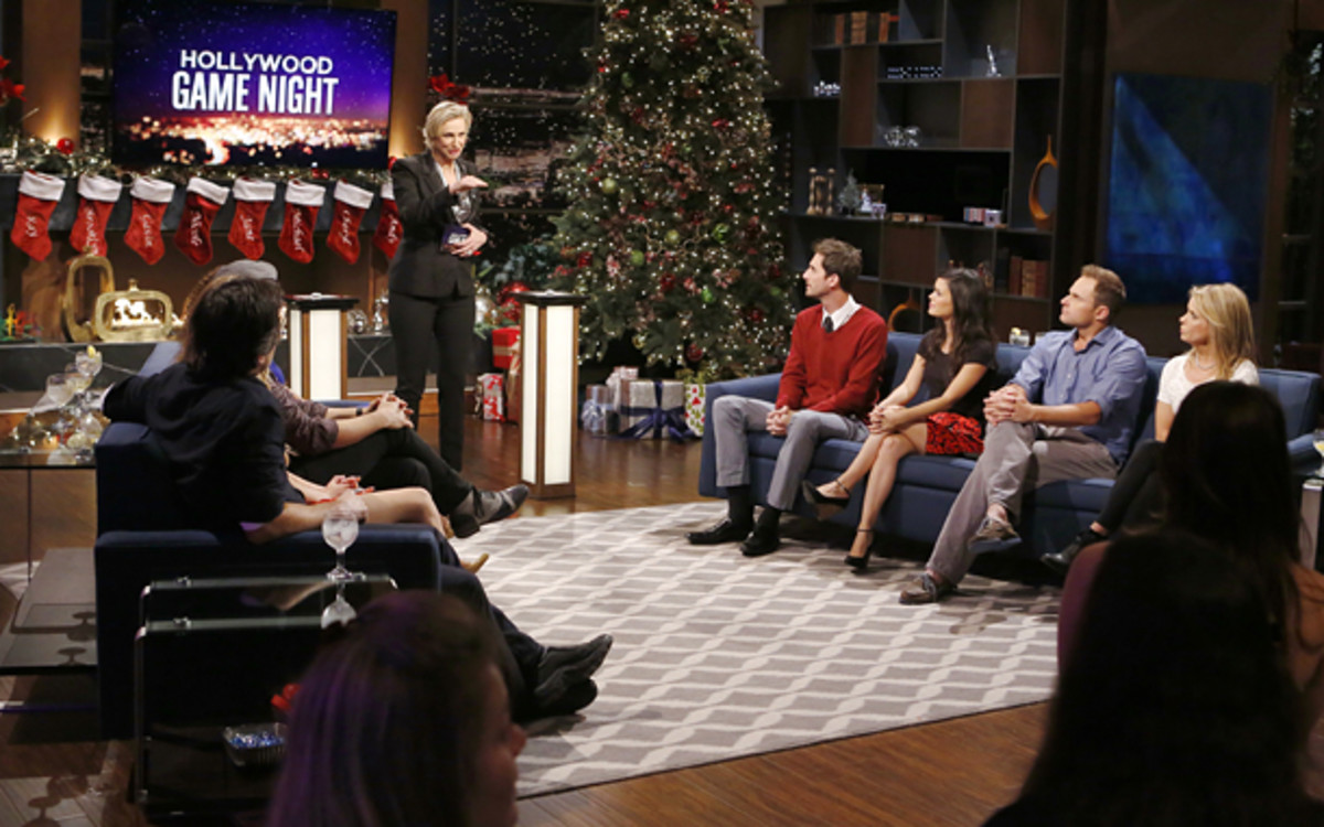 Andy Roddick appeared on NBC's Hollywood Game Night. (Trae Patton/NBC/NBCU Photo Bank via Getty Images)