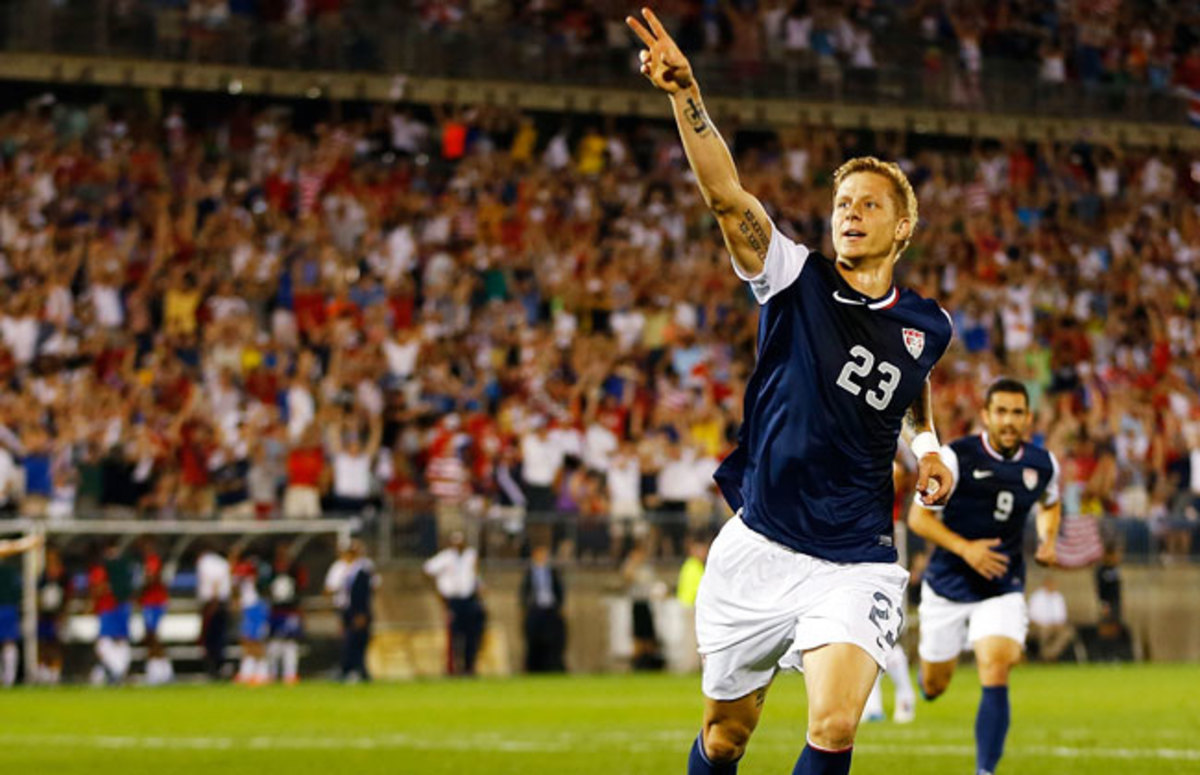 Brek Shea's goal vs. Costa Rica gave the U.S. a 1-0 win -- and 1,275 points in the FIFA rankings.