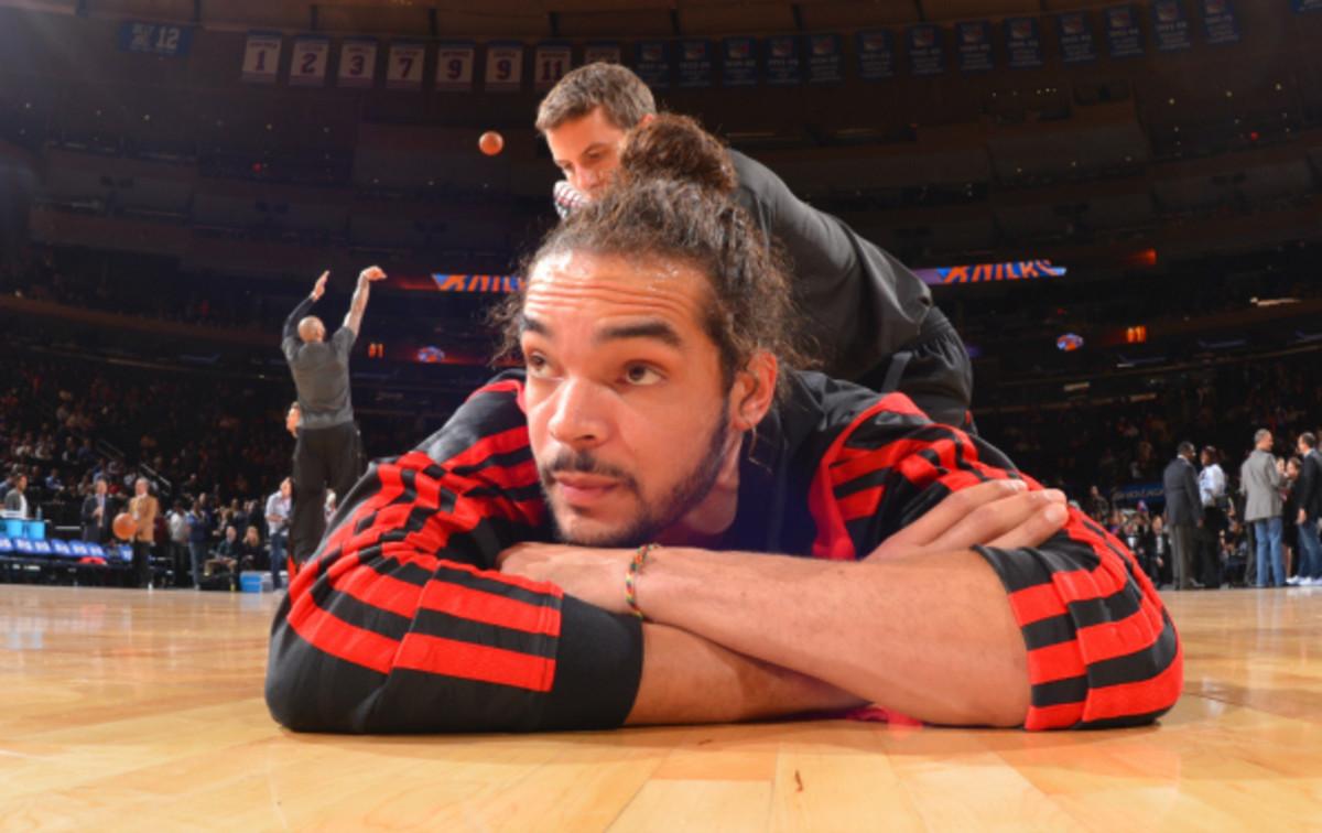 Joakim Noah leads the Bulls with 9.5 rebounds per game. (Jesse D. Garrabant/National Basketball)