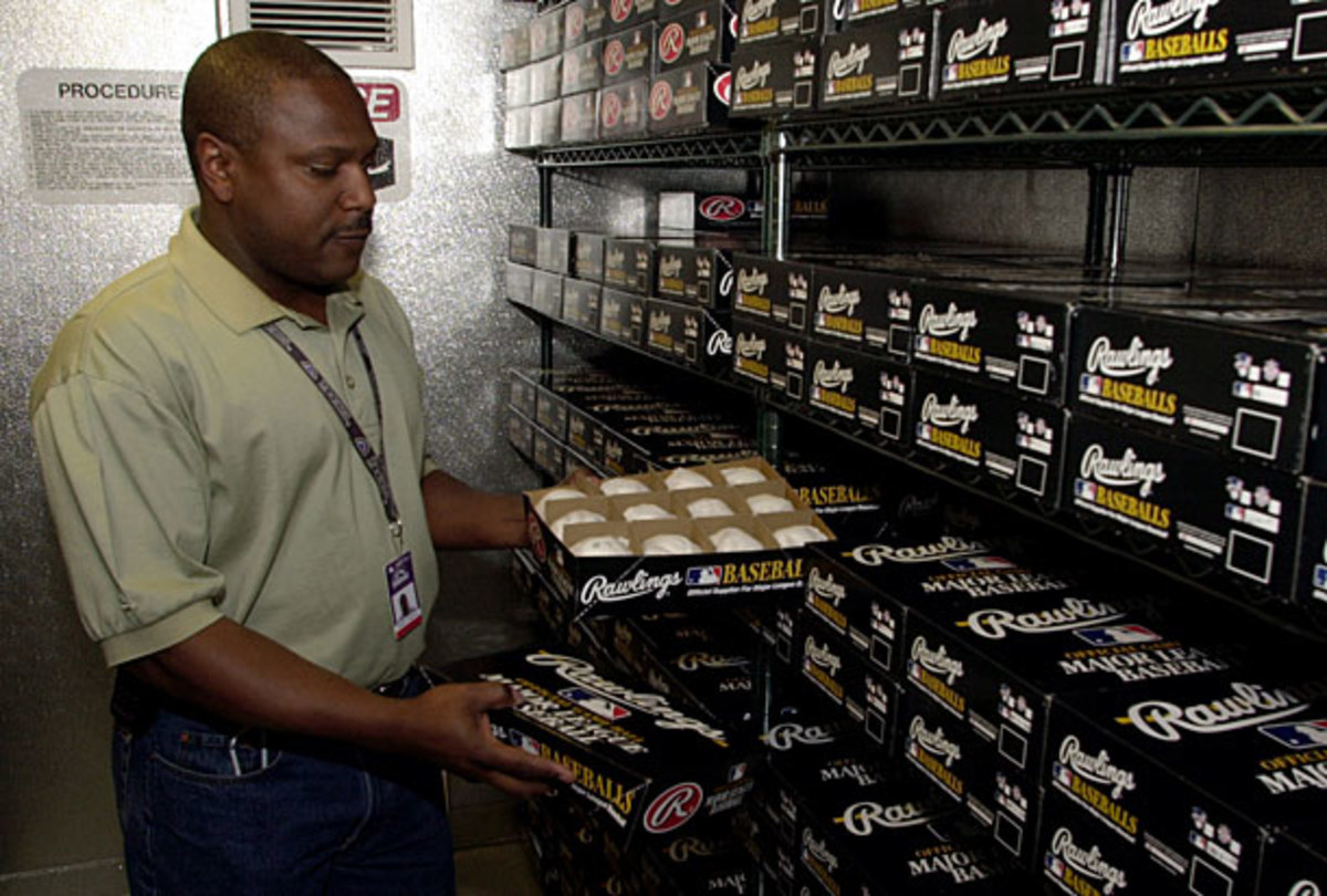 Baseballs have been stored in a humidor at Coors Field since 2002. (AP)