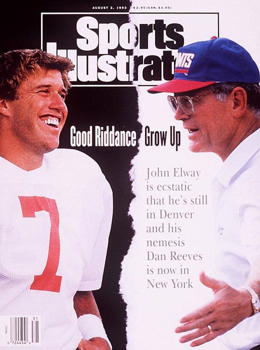 John Elway, Dan Reeves