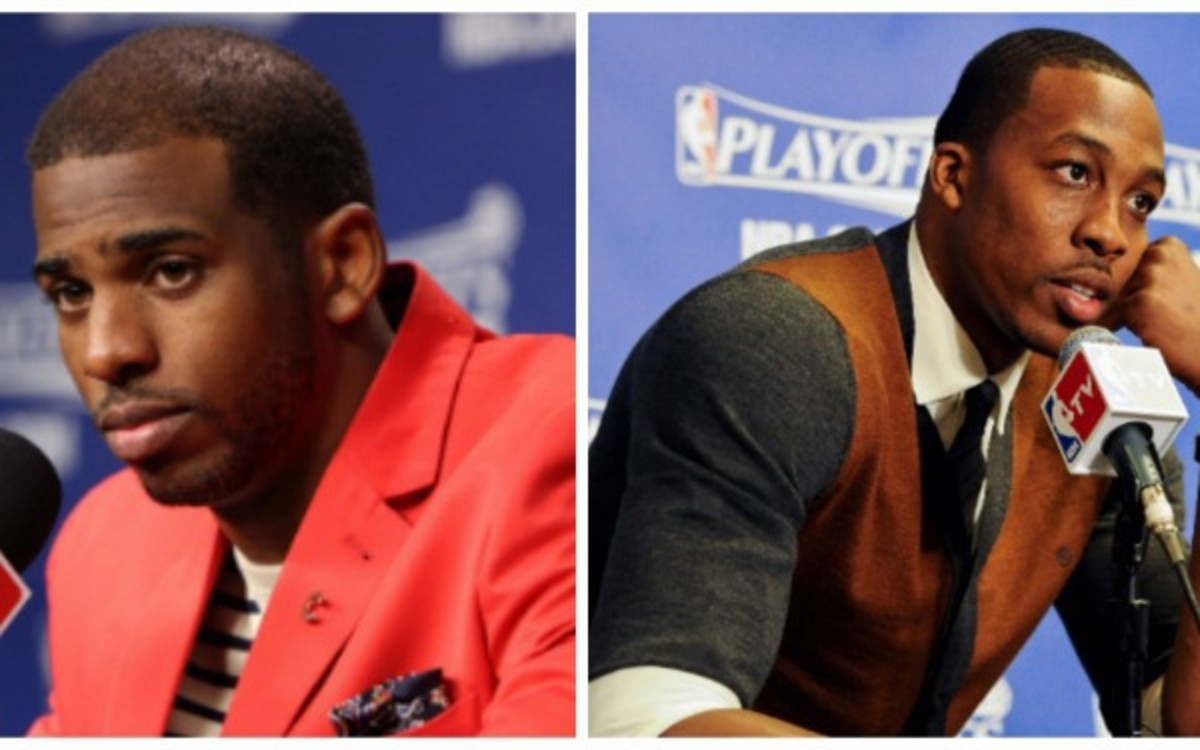 The NBA fined three teams for tampering, including the Hawks who are going after Chris Paul and Dwight Howard. (Getty Images)