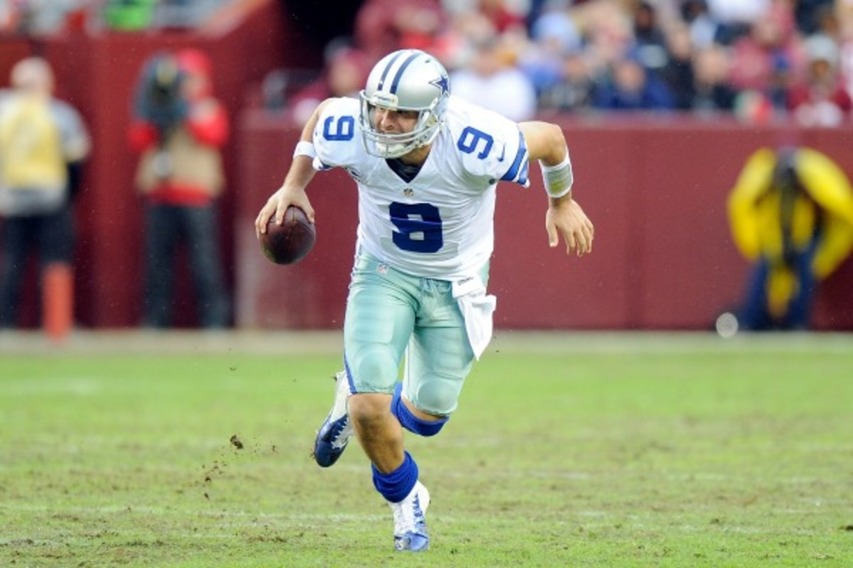 Tony Romo (G Fiume/Getty Images)