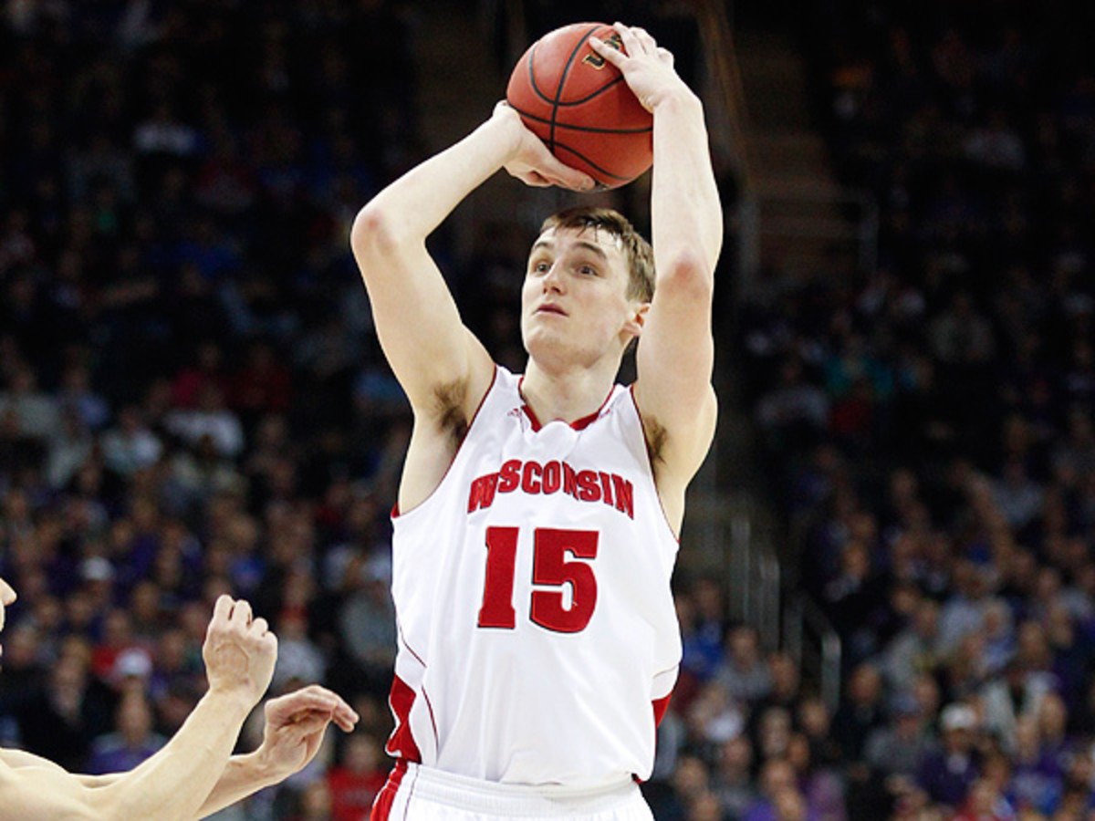 Sam Dekker is likely to be one of the Badgers' standout performers this season. (Ed Zurga/Getty Images)