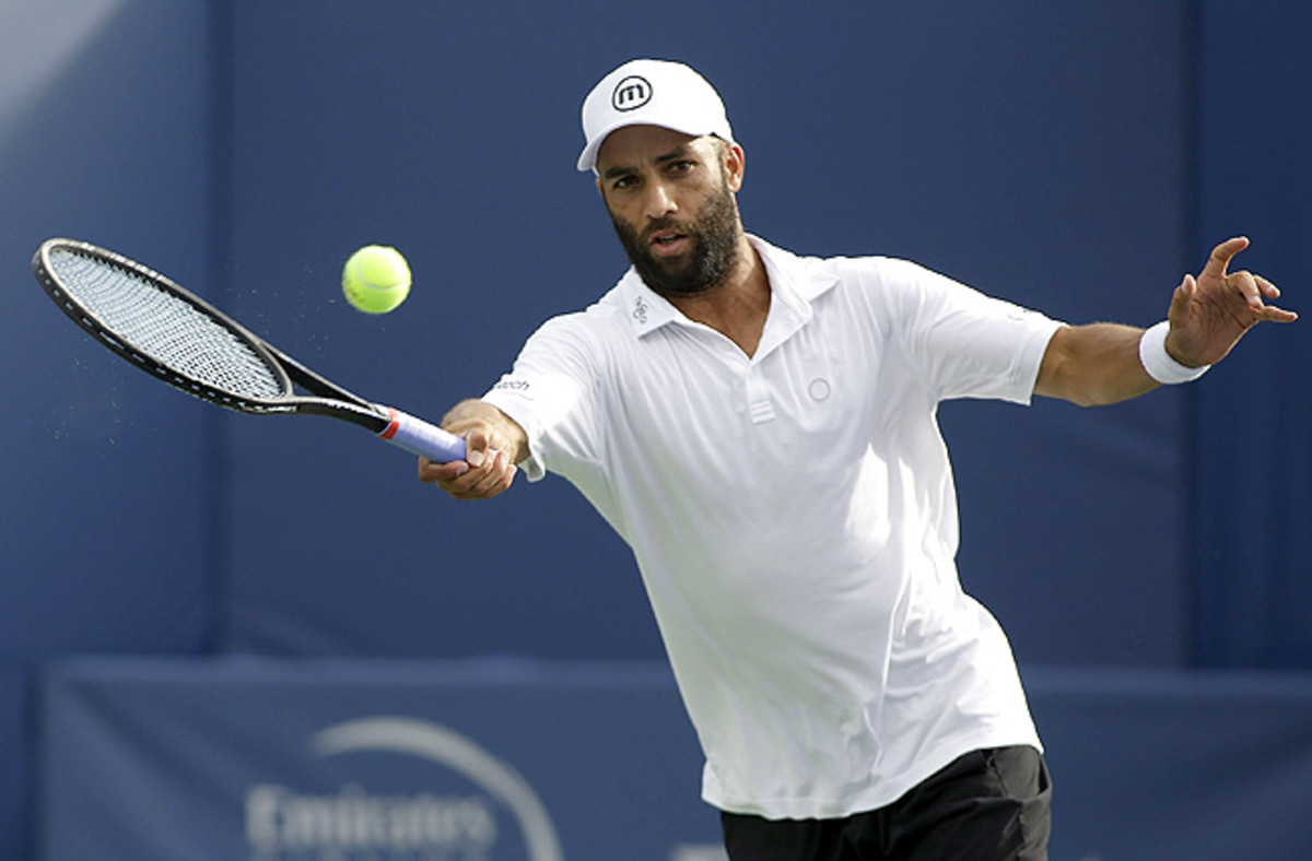 James Blake, once ranked as high as No. 4 in the ATP, has won 10 singles titles in his career.