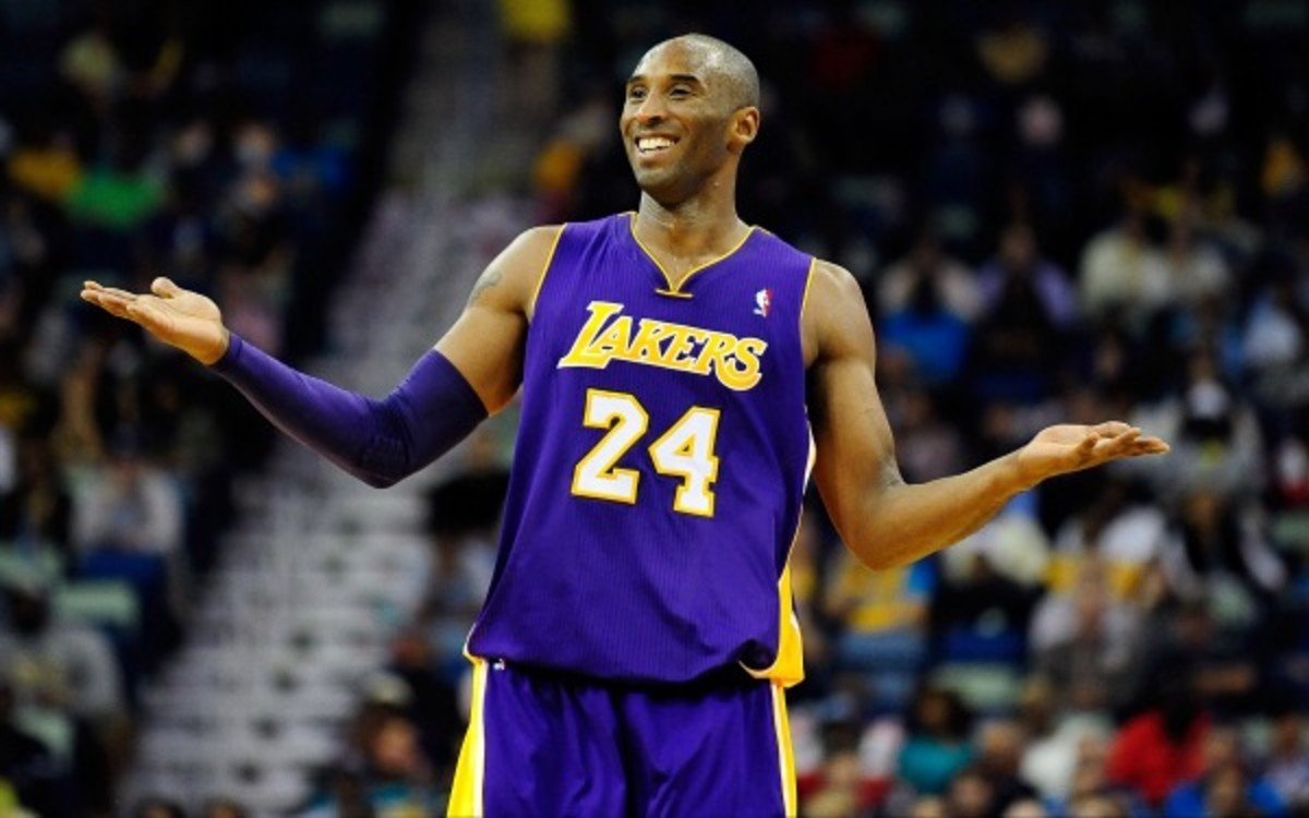 Kobe Bryant said he has progressing well in his rehab from Achilles surgery. (Stacy Revere/Getty Images)