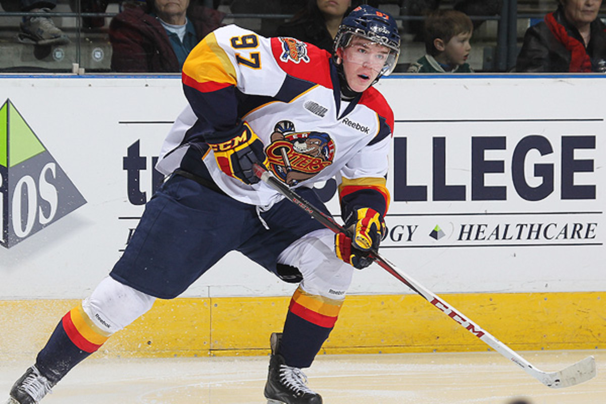 Connor McDavid could become just the sixth 16-year-old to represent Canada at the World Juniors. (Getty Images)